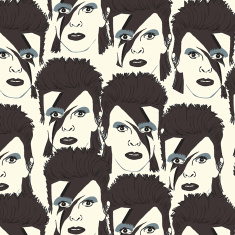 Glam Rock #5 fabric by susiprint on Spoonflower - custom fabric