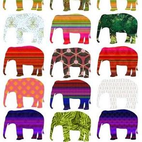 elephant festival white