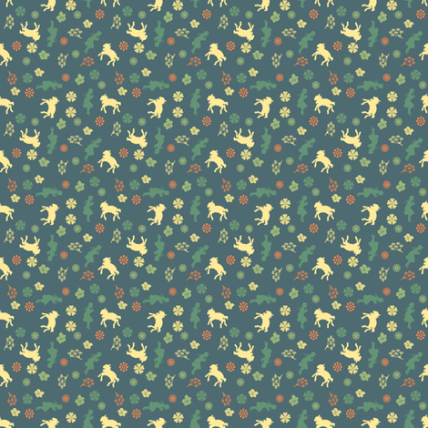 Mary Had a Little Lamb fabric by pattern_junkie on Spoonflower - custom fabric