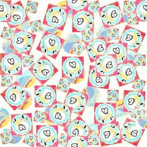Ditsy Ewe,Rainbows Too