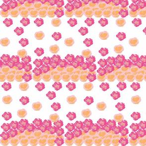 Rose drops-sorbet