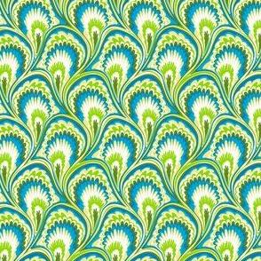 Marbling Peacock - Sparkling lemon