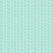 Herringbone-mint