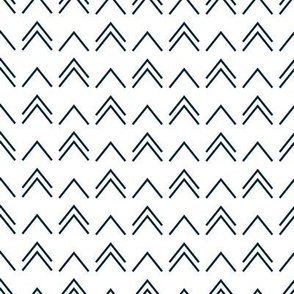 Chevron (dark blue)