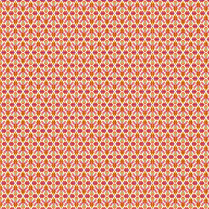 Confetti Flowers Orange-Small