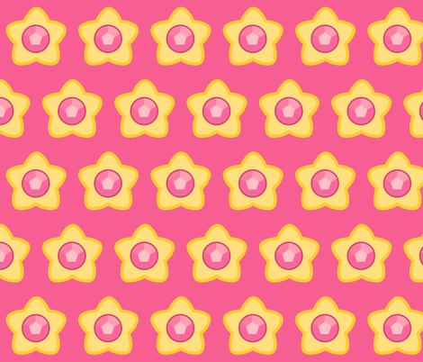 Steven Star fabric by mad_eeker on Spoonflower - custom fabric
