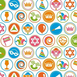 purim circles