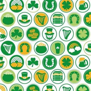 Saint Patrick's Day Cirlces