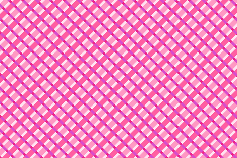 Strawberry Gingham fabric by sparklepipsi on Spoonflower - custom fabric