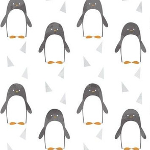 Ice Cold Penguins - White