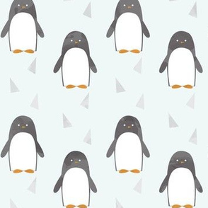Ice Cold Penguins - Blue