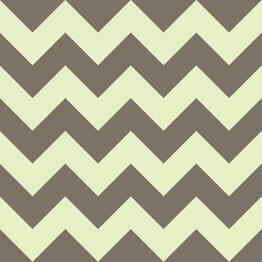 geo zoo chevron mocha cream