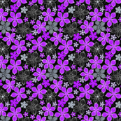 Tropic Floral Purple