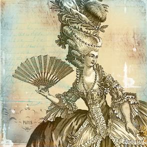 Marie Antoinette Parchment