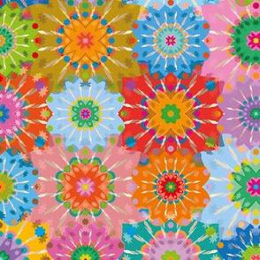 Crochet granny-Glass
