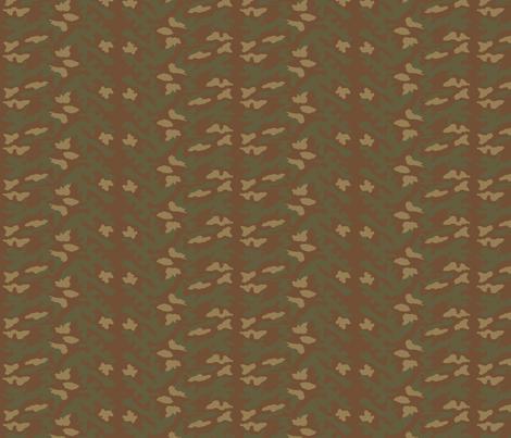 Sixth Scale Italian Telo Mimetico Pattern Camo fabric by ricraynor on Spoonflower - custom fabric