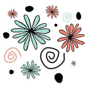 Retro Flowers With A Modern Twist