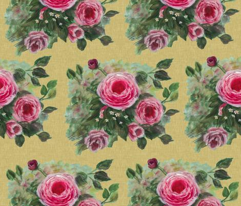 Rose Splendor fabric by deercreekartworks on Spoonflower - custom fabric