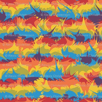 rainbow-splats