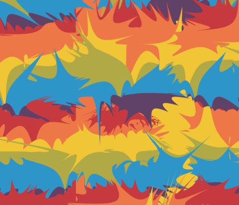 rainbow-splats fabric by infinity on Spoonflower - custom fabric