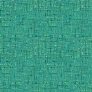 barkcloth in teal