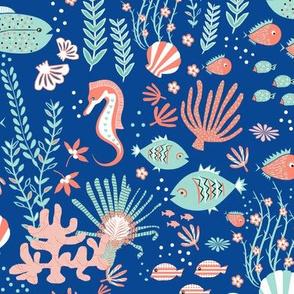 Under The Sea Coordinate Blue