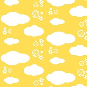 Cloud yellow