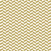 Gold Glitter + White Herringbone