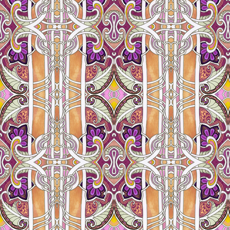 Paisley Wing Thing fabric by edsel2084 on Spoonflower - custom fabric