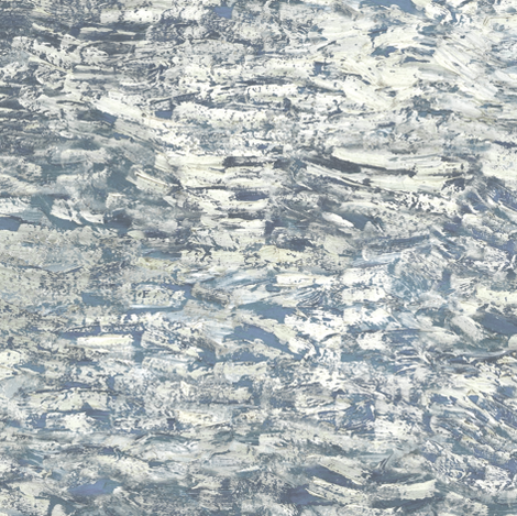 paint daubs - grey fabric by weavingmajor on Spoonflower - custom fabric