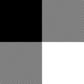 Buffalo Check - black and white