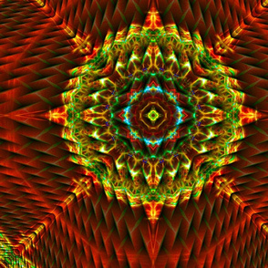 Perspective Planes Mandala