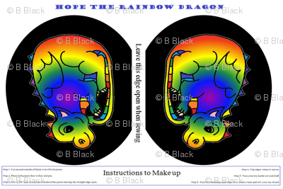 Hope -  the Rainbow Dragon