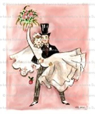 Wedding couple small