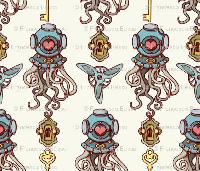 Octopuses in love coordinate