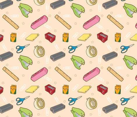 School Supplies Wallpaper