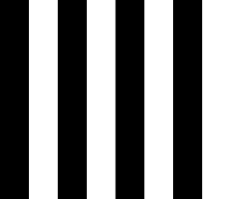 5th Avenue Stripe No. 2 in Black and White Onyx fabric by elliottdesignfactory on Spoonflower - custom fabric