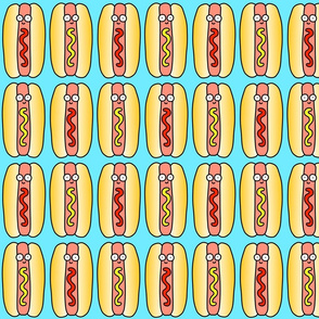 Hot Dog Blue