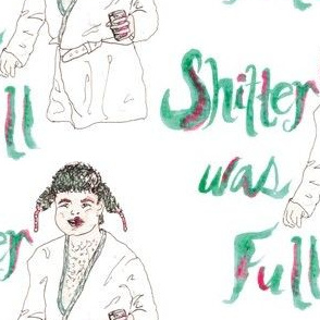 Sh!&%er Was Full! Watercolor Illustration