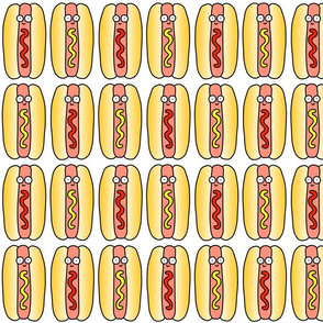 Hot Dog White