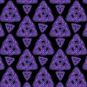 Purple Endless Triquetra