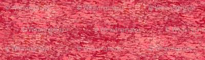 red paint daubs