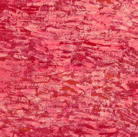 red paint daubs fabric by weavingmajor on Spoonflower - custom fabric