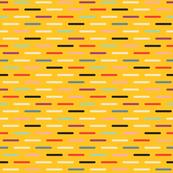 Modern Scandinavian Dash Yellow
