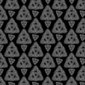 Grey Metal Triquetra