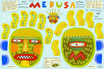 Medusa plushy pattern