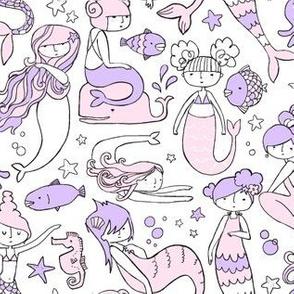 Watergirls (pastel) SMALL