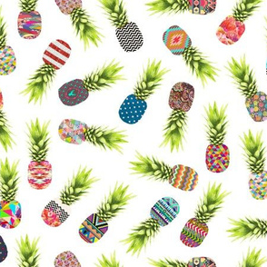 Pineapple Party on white
