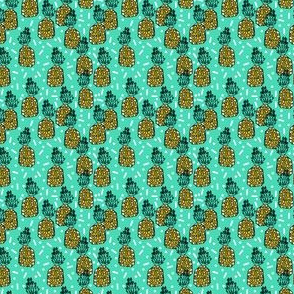 pineapple // bright tropical party pineapple sweet tropical exotic pineapples