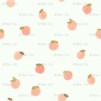 Sweet Peach Polka Dot, Celery